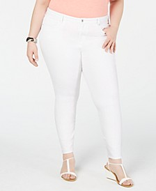 Plus Size High-Waist Jeggings, Created for Macy's