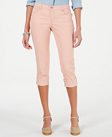 Style & Co Petite Curvy Capri Pants, Created for Macy's