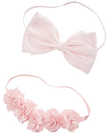 First Impressions Baby Girls 2-Pk. Headbands Set, Created for Macy's