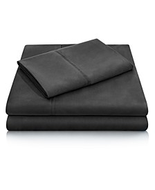 Woven Microfiber Short Queen Sheet Set