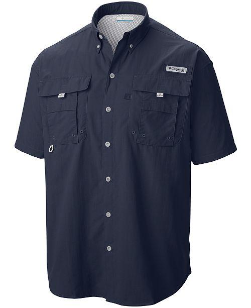 332222a89eb ... Shirt; Columbia Men's Big and Tall PFG Bahama II Short-Sleeve ...