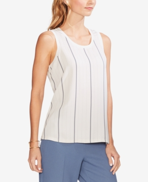 Vince Camuto Tops STRIPED-FRONT TANK TOP