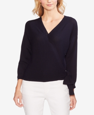 Vince Camuto Sweaters RIBBED WRAP SWEATER