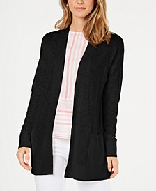 Cotton Long Cardigan, Created for Macy's