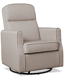 Children Blair Slim Nursery Glider Swivel Rocker Chair