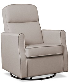 Blair Nursery Glider Swivel Rocker Chair, Quick Ship