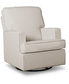 Henry Nursery Swivel Glider Chair, Quick Ship