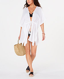 I.N.C. Lace Border Cover-Up, Created for Macy's
