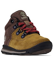 Timberland Toddler Boys' GT Rally Mid Cut Mixed-Media Boots from Finish Line