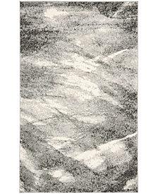 Safavieh Retro Gray and Ivory 5' x 8' Area Rug