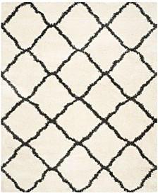"Belize Ivory and Charcoal 8'6"" x 12' Area Rug"