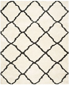 "Safavieh Belize Ivory and Charcoal 8'6"" x 12' Area Rug"