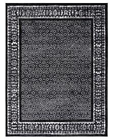 Safavieh Adirondack Black and Silver 6' x 9' Area Rug