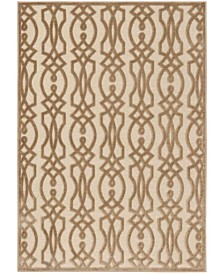"Martha Stewart Collection Hickory 5'3"" x 7'6"" Area Rug, Created for Macy's"