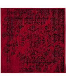 Safavieh Adirondack Red and Black 8' x 8' Square Area Rug
