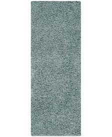 "Athens Sea foam 2'3"" x 8' Runner Area Rug"