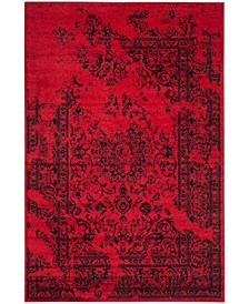 Adirondack Red and Black 10' x 14' Area Rug