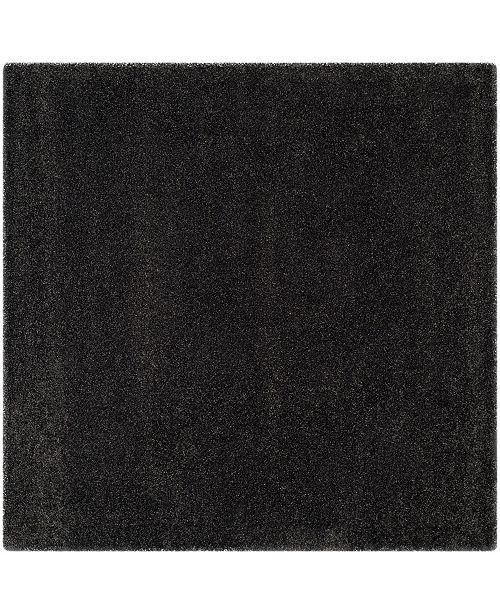 Safavieh Shag Dark Gray 10' x 10' Square Area Rug