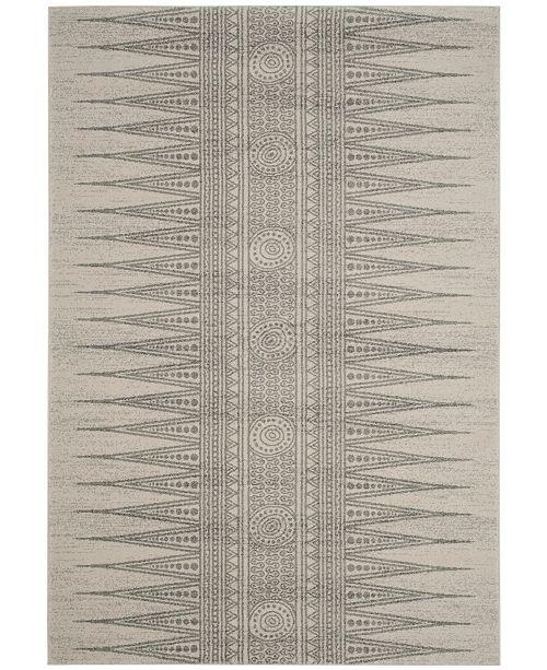 Safavieh Evoke Ivory and Silver 4' x 6' Area Rug