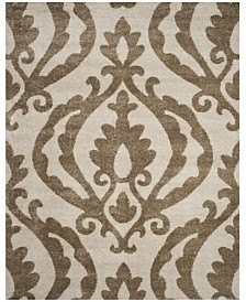 "Safavieh Shag Cream and Beige 8'6"" x 12' Area Rug"