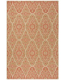 "Natural and Beige 6'7"" x 9'6"" Area Rug, Created for Macy's"