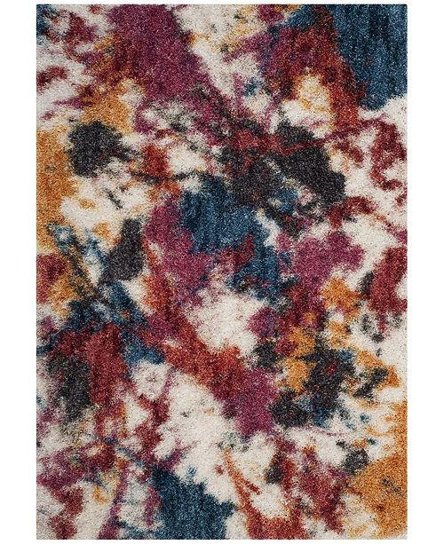 Safavieh Gypsy Ivory and Blue 6' x 9' Area Rug