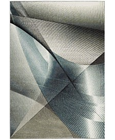 Safavieh Hollywood Gray and Teal 8' x 10' Area Rug