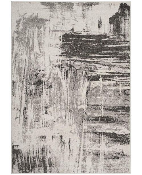 Safavieh Adirondack Ivory and Gray 4' x 6' Area Rug