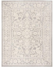 Safavieh Reflection Light Gray and Cream 8' x 10' Area Rug