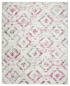 Skyler Ivory and Pink 8' x 10' Area Rug