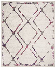 Skyler Ivory and Pink 9' x 12' Area Rug