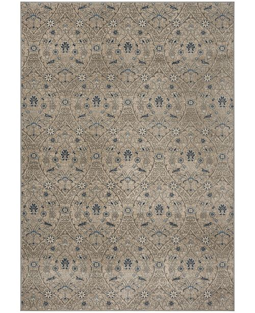 Safavieh Brentwood Light Gray and Blue 9' x 12' Area Rug