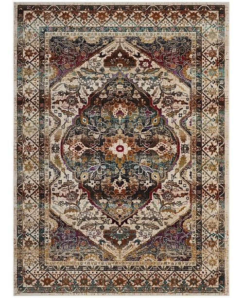Safavieh Baldwin Ivory and Teal 10' x 14' Sisal Weave Area Rug