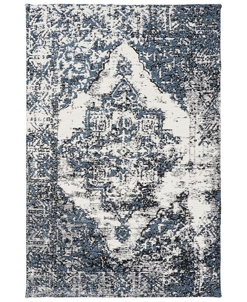 Safavieh Classic Vintage Navy and Ivory 8' x 10' Area Rug