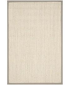 Natural Fiber Marble and Khaki 5' x 8' Sisal Weave Area Rug