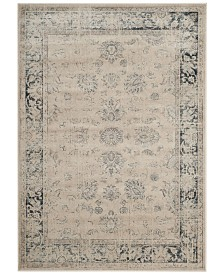 "Safavieh Vintage Stone and Blue 6'7"" x 9'2"" Area Rug"