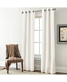 2 Pack Textured Black Out Curtain