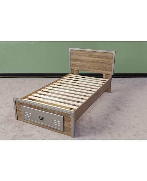 Payton Wooden Bed Slats Bunkie Board Frame Twin