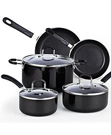 8-Piece Nonstick Heavy Gauge Cookware Set