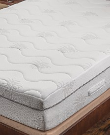"Om Aloe 11"" Medium Firm Mattress - King, Quick Ship, Mattress in a Box"