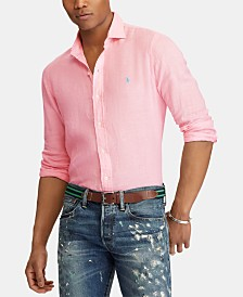 Polo Ralph Lauren Men's Slim Fit Linen Shirt