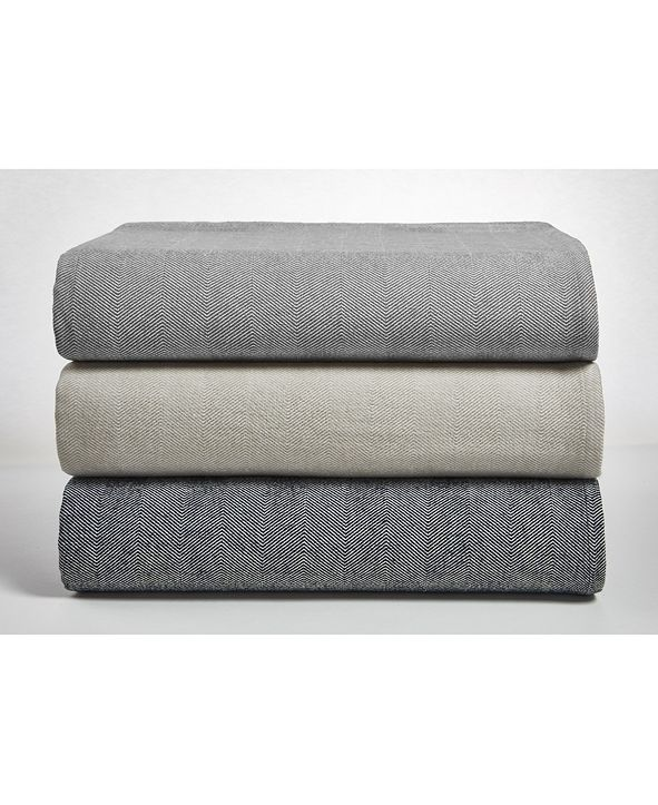 DownTown Company Herringbone Blanket Collection