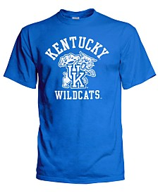 J America Men's Big & Tall Kentucky Wildcats Arch & Vintage Logo T-Shirt