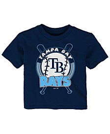 Outerstuff Tampa Bay Rays Fun Park T-Shirt, Toddler Boys (2T-4T)