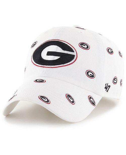 reputable site 222a1 85bc0 ...  47 Brand Women s Georgia Bulldogs Confetti Strapback ...