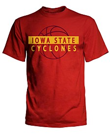 J America Men's Big & Tall Iowa State Cyclones Basketball Shadow T-Shirt