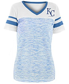 Women's Kansas City Royals Space Dye Back T-Shirt