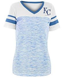 5th & Ocean Women's Kansas City Royals Space Dye Back T-Shirt