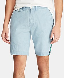 Polo Ralph Lauren Men's Big & Tall Classic Fit  Chambray Shorts