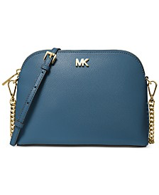 abbd891ca9 MICHAEL Michael Kors Crossgrain Leather Dome Crossbody. 6 colors